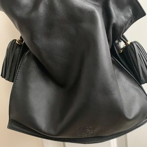 Loewe leather hobo bag